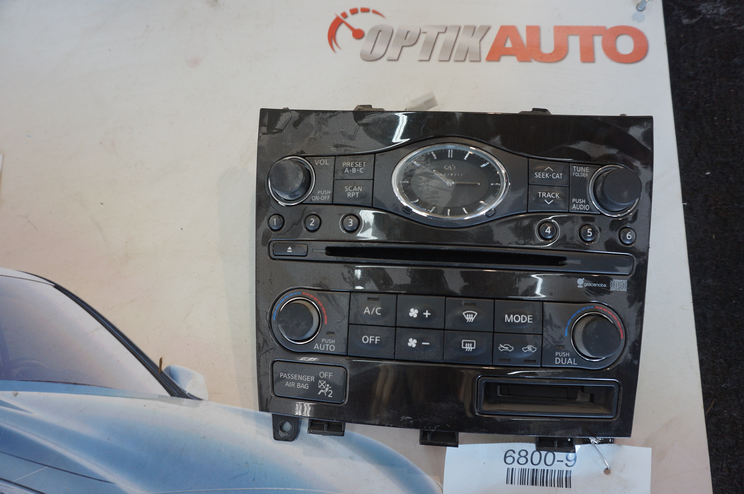 RADIO & CLIMATE CONTROL ASSEMBLY Archives - OptikAuto