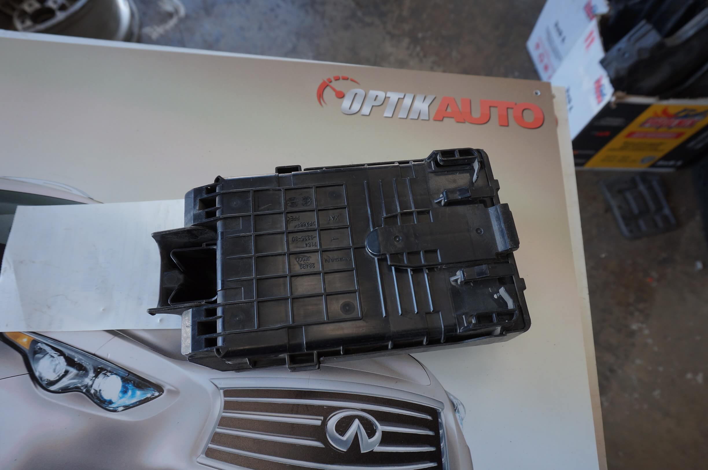 2003 Infiniti G35 Fuse Box Location