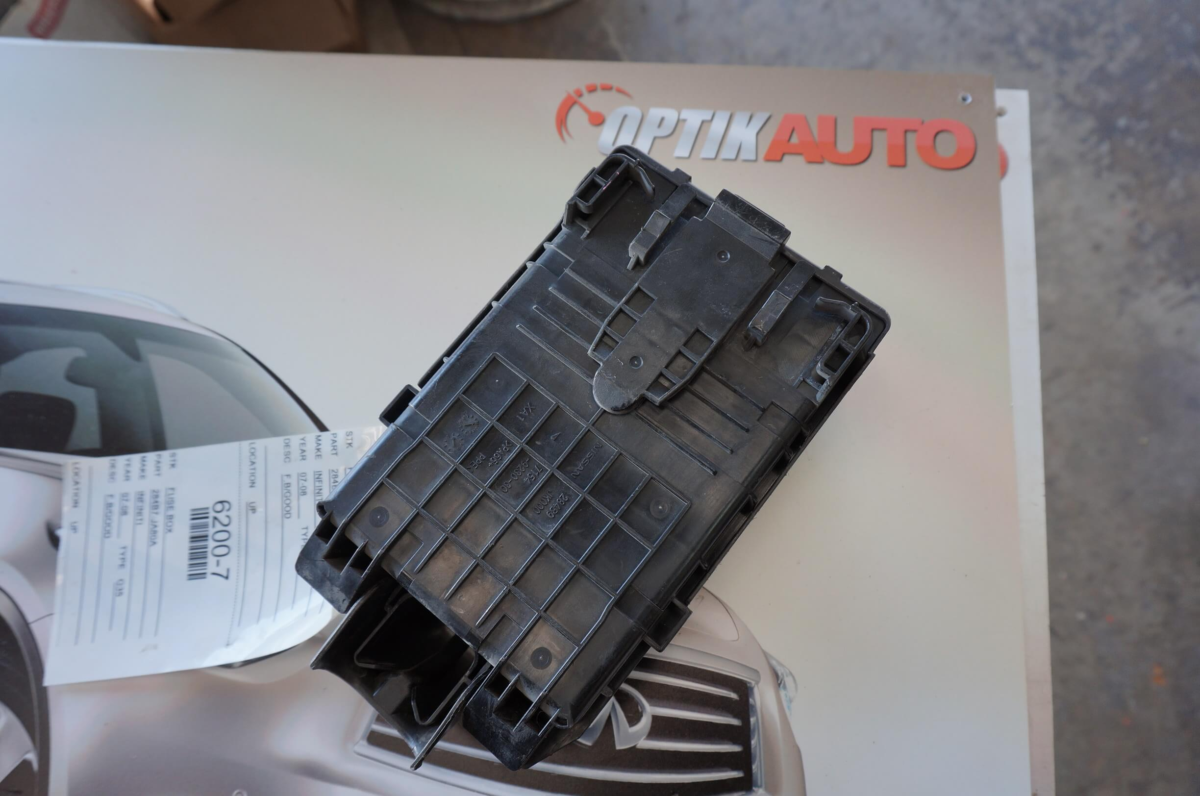 Infiniti G35 2007 2008 Ipdm Fuse Box 284b7ja80a Optikauto G35 Parking Light Fuse  2008 G35 Fuse Box